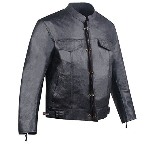 SOA Mens Leather Jacket Anarchy Motorcycle Club Concealed Carry Outlaws S https://motorcyclejacketsusa.info/soa-mens-leather-jacket-anarchy-motorcycle-club-concealed-carry-outlaws-s/