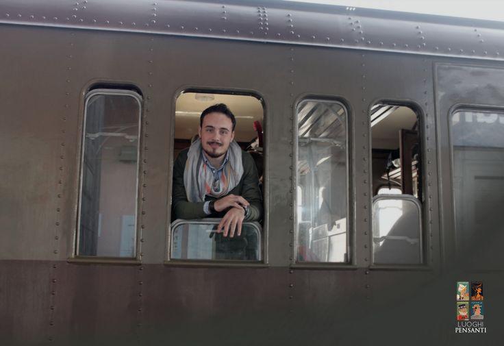 Jump on the train! #ferroviekaos #ItaSontheRoad #LuoghiPensanti