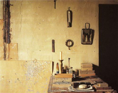 Luigi Ghirri - Morandi's Atelier (1987):