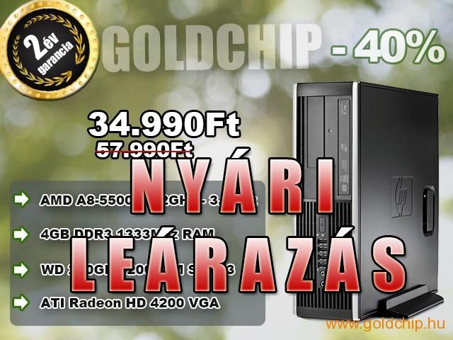 HP AMD A8-5500B 4x3,7Ghz - 4GB DDR3 RAM PC (Játékokra is!)  http://www.goldchip.hu/HP-AMD-A8-5500B-4x3-7Ghz-4GB-DDR3-RAM-PC-Jatekokra-is-d30921.htm