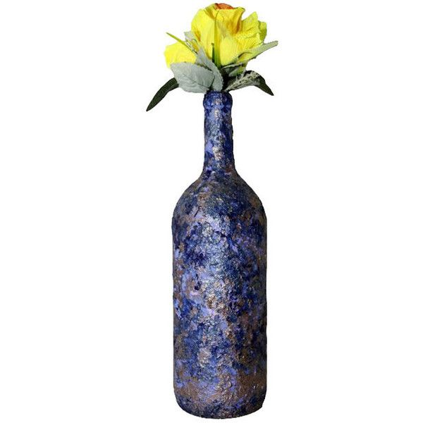 Extravagant Violet Antique Vase - Eclectic - Vases - by Charisma Home... ❤ liked on Polyvore featuring home, home decor and vases