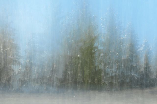 BURNING LENS | Edition #snow | No.99 - #Photography with long exposure and grey filter #notphotoshopped #art  #Artist Roland Wegerer  #photooftheday