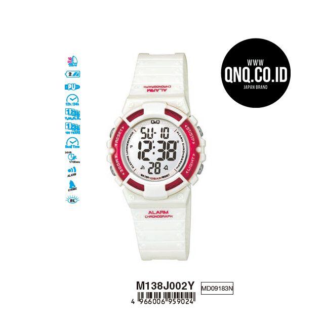 Arloji Jam Tangan Casual Fashion Digital M138j002y Rubber Q Q Qnq Qq Original Q Q Indonesia Di 2020 Jam Tangan Jam Indonesia