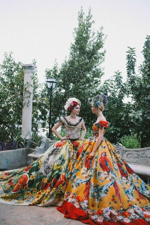 Dolce & Gabbana Alta Moda Fall/Winter 2015.