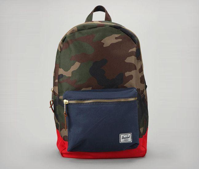Herschel Camo Colorblock Backpack