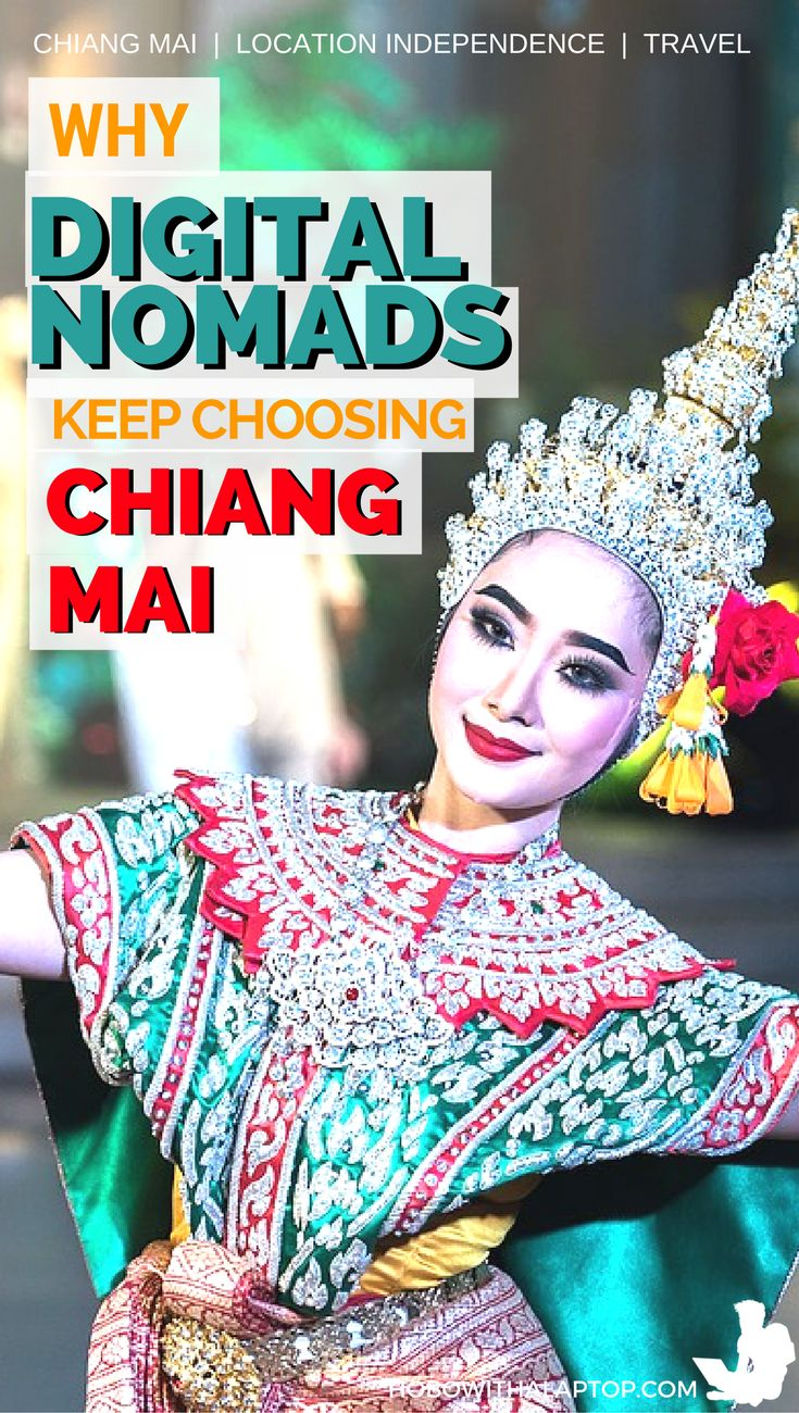 Why do digital nomads flock Chiang Mai? Here's just some of the reasons why: http://hobowithalaptop.com/chiang-mai-digital-nomad-capital-world