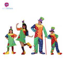 Disfraces Grupos Payasos divertidos En mercadisfraces tu tienda de disfraces online, aquí podrás comprar tus disfraces para Carnaval o cualquier fiesta temática. Para mas info contacta con nosotros http://mercadisfraces.es/disfraces-para-grupos/?p=7