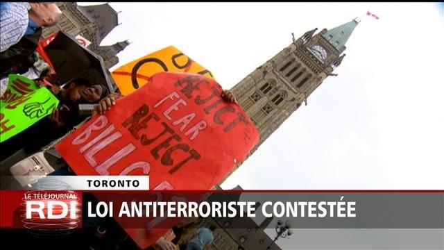La Loi antiterroriste fédérale contestée en cour | ICI.Radio-Canada.ca
