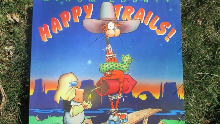 Vintage Bloom County Happy Trails Comic 1990 Berke Breathed by jclairep on Etsy