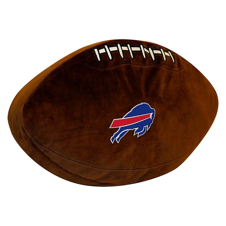 Officially Licensed NFL Bills 3D Sports Pillow
