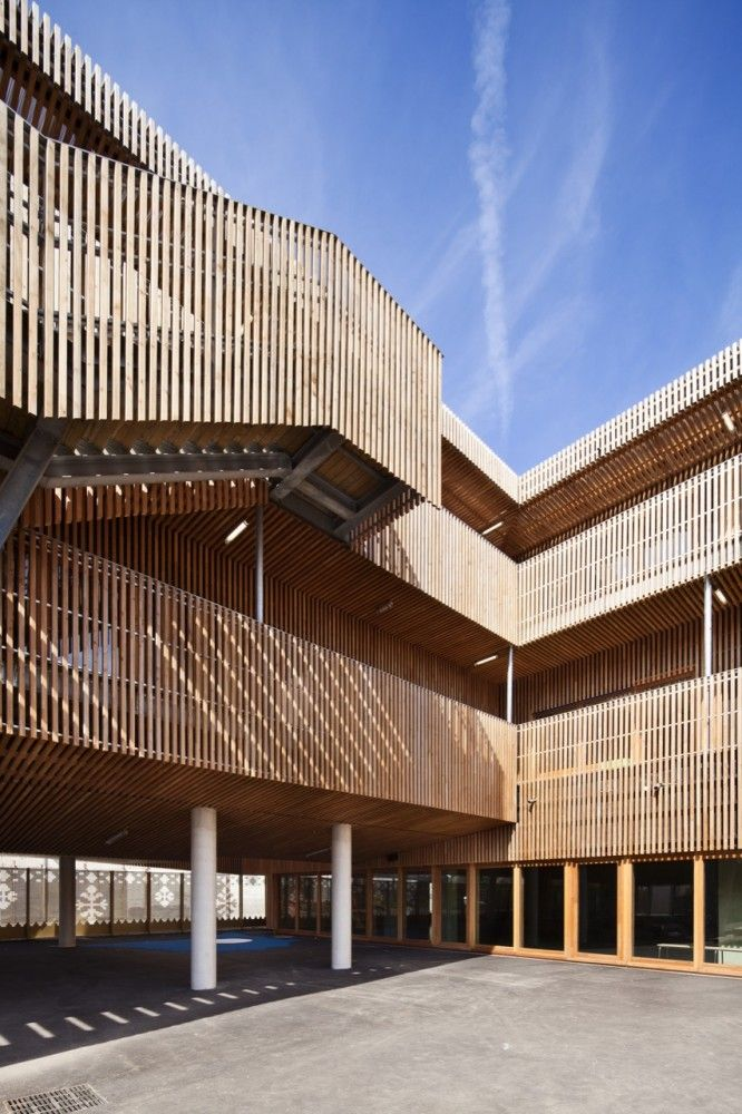 Tino School by AAVP Architecture 16, France, Saint-Denis.