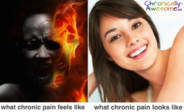 Chronically-Awesome.com on Pain: 'Just because you can't see it, it doesn't mean it isn't there'