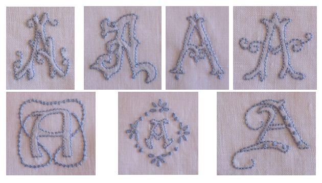 Elisabetta hand embroidery