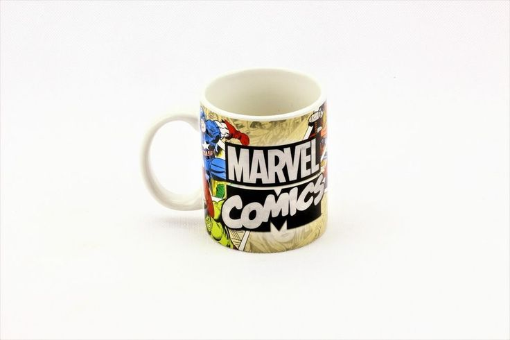 AVENGERS Marvel Superheroes Ceramic Mug Comic Strip Collectors cup hero's new