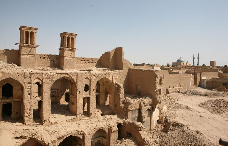 Ruins in Yazd, Iran - the 7,000 years old city.