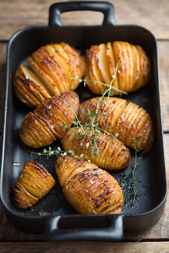 hasselback potatoes with chipotle butter / Drizzle and Dip