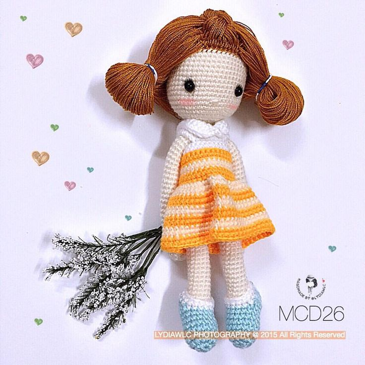 ♡ lovely crochet doll. (Inspiration).