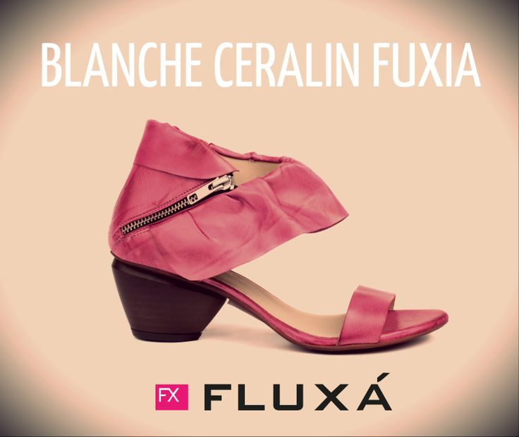 Modelo Blanche Ceralin Fuxia de FLUXÁ. #fluxa #boots #shoes #moda #fashion #tendencias #estilo #trends