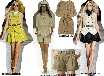 I love safari-inspired clothes!
