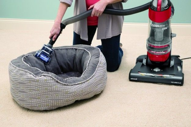 This Bissell vacuum that's designed with pet owners in mind. | 33 Practical Products That Will Help Your Home Be The Cleanest It's Ever Been