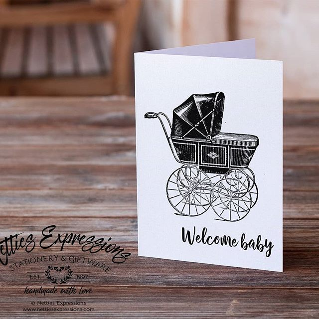 Welcome Baby - Inside Saying:Ten little fingers and ten little toes, the sweetest of smiles and a cute little nose...All these add up to the same precious thing - a baby - the greatest of gifts life can bring! Congratulations  This card has been slightly