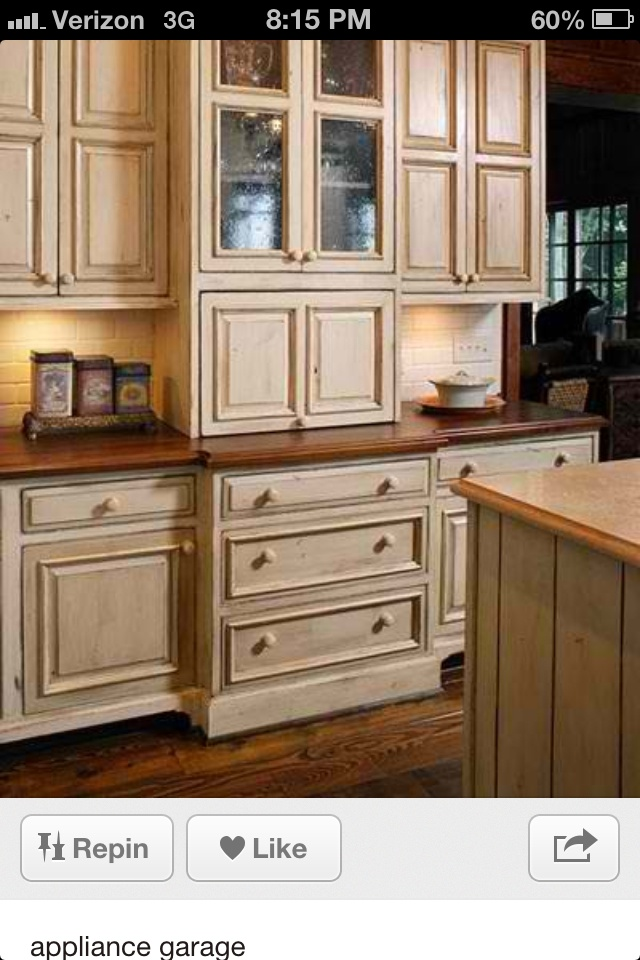 Appliance Garage Counter Top : Best kitchen ideas images on pinterest kitchens for