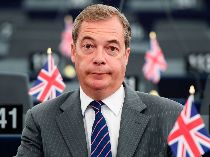 Nigel Farage rules out bid to replace Paul Nuttall as Ukip leader