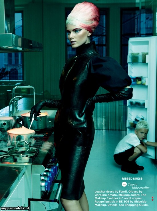 Marina Linchuk in 'Diary Of A Mod Housewife' - Photographed by Greg Kadel (Allure October 2012)    Complete shoot after the click...