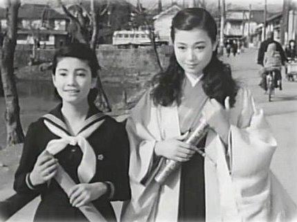 Nozoe Hitomi (野添ひとみ, at right) 1937-1995, Japanese Actress