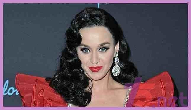 Katy Perry Rocks Long Black Hair and Old Hollywood Curls