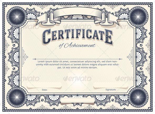 Best 25+ Blank certificate template ideas on Pinterest Blank - free blank certificate templates