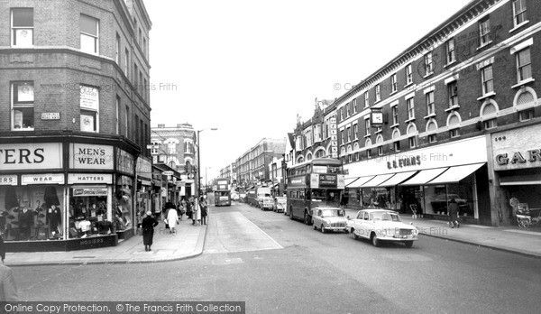 Kilburn, High Road c.1965, from Francis Frith