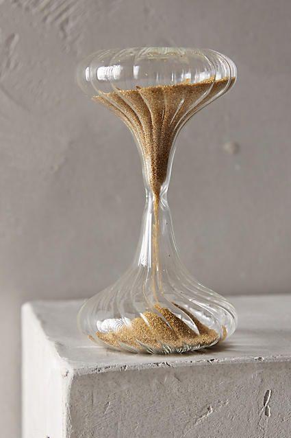 how to make a sand hourglass