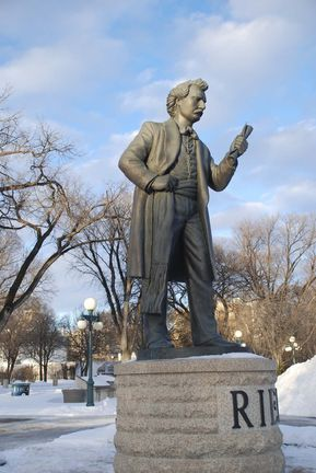 During this holiday weekend, designated as a remembrance of the life and achievements of Louis Riel, it is worth looking back to see who he was and where he went. Today Riel is honoured as a great leader, yet for all his efforts he was hung as a traitor in 1885. His crime: participating in the resistance of government attempts to take properties that were recognized as Métis lands.