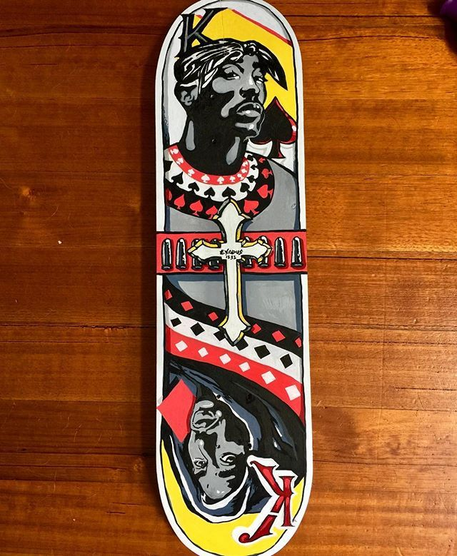 The Final Skatedeck In A Set Of Five Paying Tribute To Hiphop And Rap Legends Its Sunny In Melbourne Today Get Your Drink And Pour On Skate Decks Tribute Rap