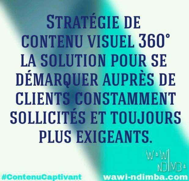 Stratégie de contenu 360 ° = indispensable