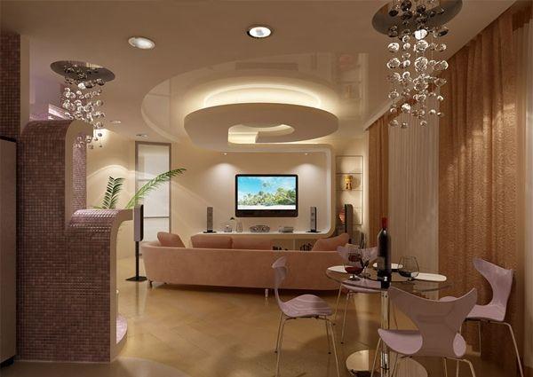 Die besten 25+ Design plafond pop Ideen auf Pinterest Apotheker - moderne deckenverkleidung wohnzimmer