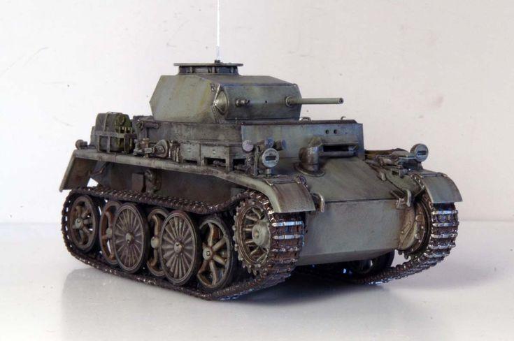 PzKpfw I Ausf.C - Reconnaissance light tank (experimental