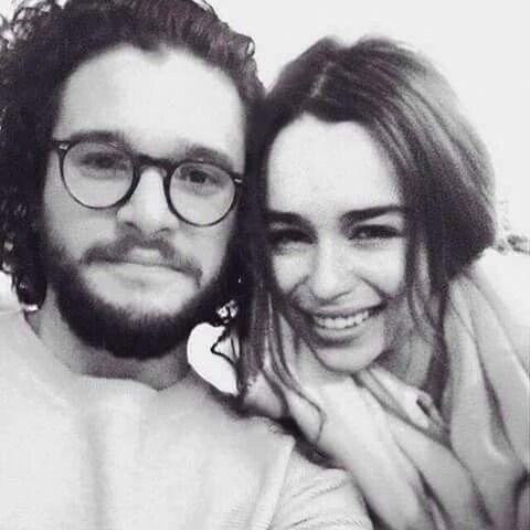 Kit Harrington & Emilia Clarke