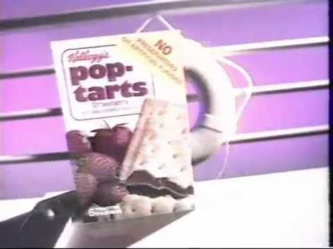 Pop Tarts Commercial 1986