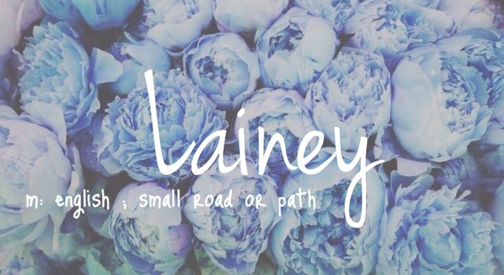 Lainey - cute baby girl name!