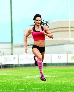 Sprint Interval Workout With IFBB Figure Pro Erin Stern | Muscle & Fitness