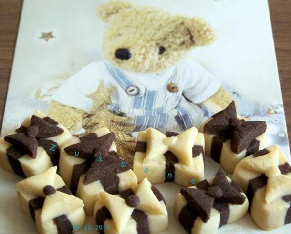 Vianočné pečivo - balíčky, recept s fotopostupom, Cookies recipe, nanicmama.sk