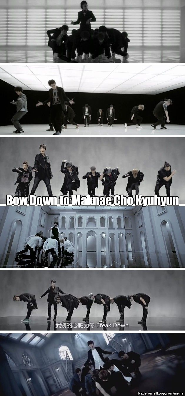 How come I never noticed this before, Bow Down to Maknae Cho Kyuhyun....