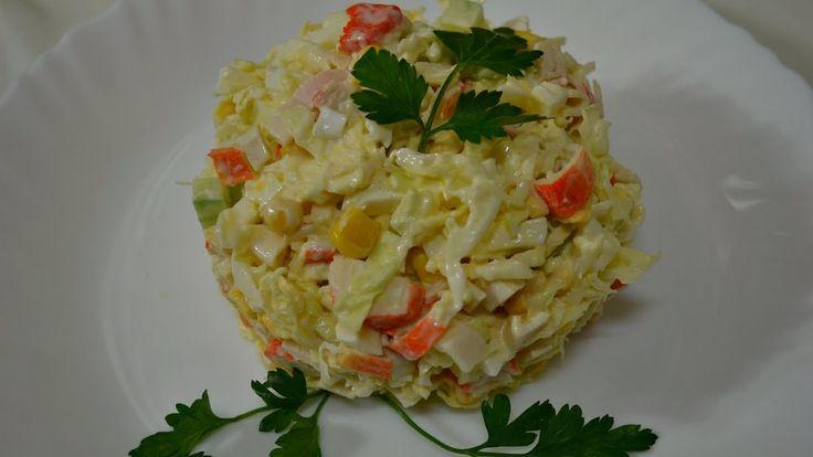 Ну, оОчень вкусный - Салат из Крабовых Палочек!