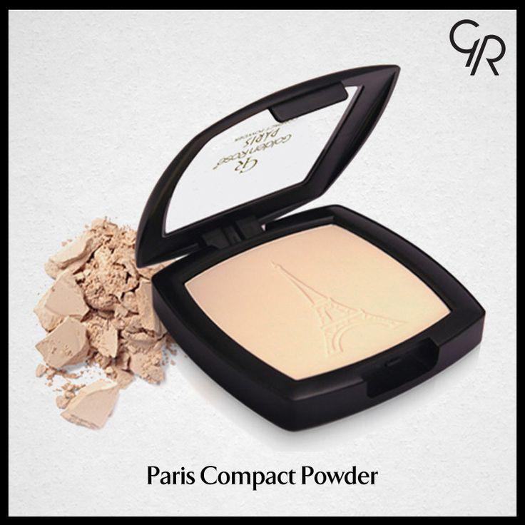 Paris Compact Powder yüzünde doğal ve canlı bir etki, teninde kadifemsi, yumuşak bir his bırakır. http://www.goldenrosestore.com.tr/paris-compact-powder.html