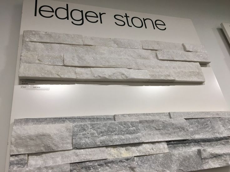 RUSTIC STONE WITH DIMENSIONAL DEPTH  The roughness of Ledger Stones gives it a rustic and rugged appearance. Its elevated layout gives the stone mosaic dimensional depth but only allows it to be used on areas such as fireplaces, walls, and borders.
