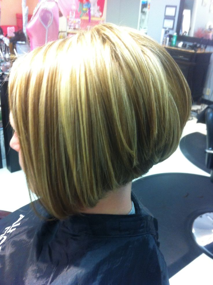 17 Best Images About Stacked Bob Hairstyles On Pinterest Bobs Partial Highlights And Stacked