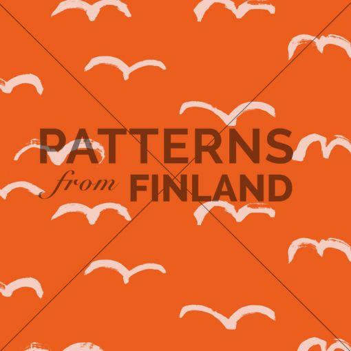 Lokki by Hanna Ruusulampi  #patternsfromfinland #hannaruusulampi #patterns #finnishdesignLokki