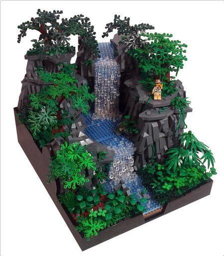 lego tropical rainforest explorer